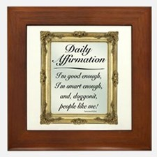 SNL: Affirmation Framed Tile