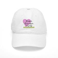 Great Grandpa To Be Stripes Baseball Cap
