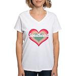 Sweetheart Women's V-Neck T-Shirt