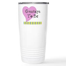 Grandpa To Be Stripes Travel Mug