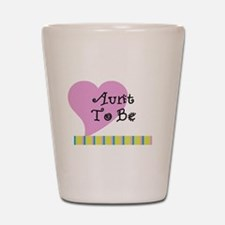 Aunt To Be Stripes Shot Glass