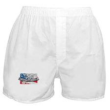 Unique Navy Boxer Shorts