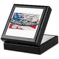Cute Navy Keepsake Box