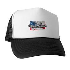 Cute Navy Trucker Hat
