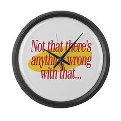 SF: Nothing Wrong Large Wall Clock