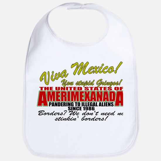 Anti Mexican Illegal Alien Bib