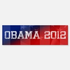 Obama 2012 Bumper Bumper Sticker