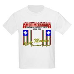 Anti Illegal Mexicans Kids T-Shirt