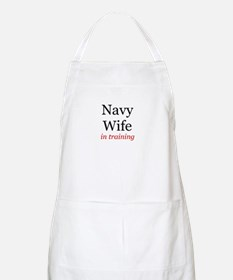 Navy Wife in training BBQ Apron