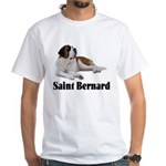 Saint Bernard White T-Shirt