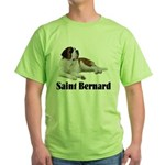 Saint Bernard Green T-Shirt
