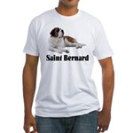 Saint Bernard Fitted T-Shirt