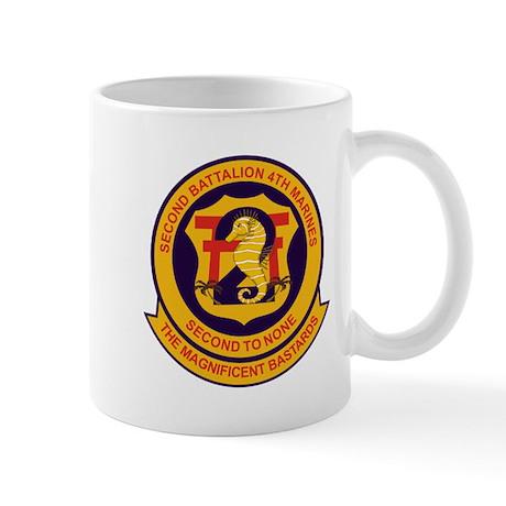 2nd Battalion 4th Marines Coffee Mug