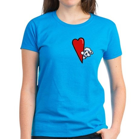 Maltese Lover Women's Dark T-Shirt