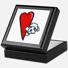 Maltese Lover Keepsake Box