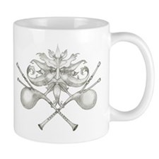The Green Bagpipe Man Mugs