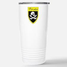 Pirate Yellow Patch Travel Mug