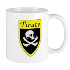 Pirate Yellow Patch Small Mug