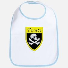 Pirate Yellow Patch Bib