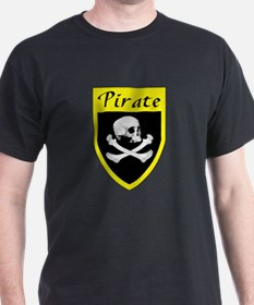 Pirate Yellow Patch T-Shirt