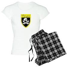 Pirate Yellow Patch Pajamas