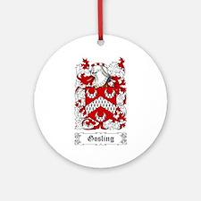 Gosling Ornament (Round)