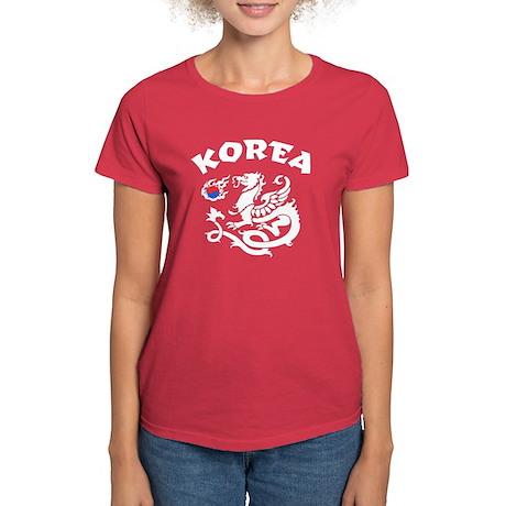 Korea Dragon Women's Dark T-Shirt