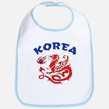 Korea Dragon Bib