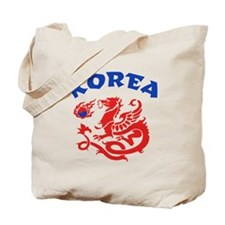 Korea Dragon Tote Bag