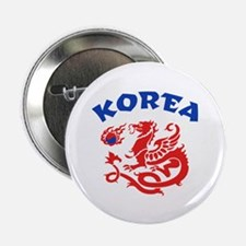 "Korea Dragon 2.25"" Button"
