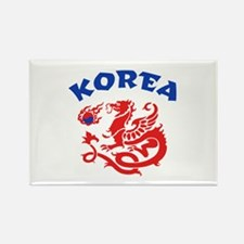Korea Dragon Rectangle Magnet