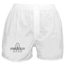 Letter A: Amarillo Boxer Shorts