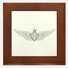Senior Flight Surgeon Framed Tile