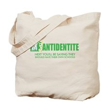 Antidentite kramer Tote Bag