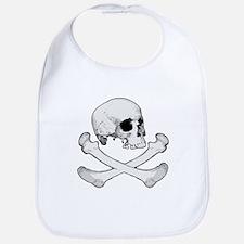 Skull & Bones Bib