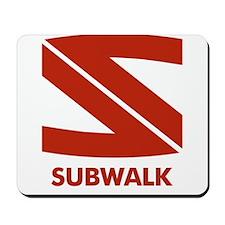 Daybreakers Subwalk Vampires Mousepad
