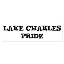 Lake Charles Pride Bumper Bumper Sticker