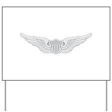 Aviator Yard Sign