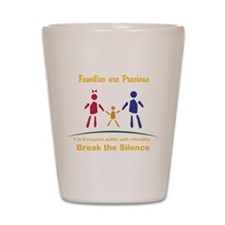 Families Are Precious Shot Glass