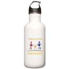 Families Are Precious Stainless Water Bottle 1.0L
