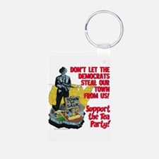 $9.99 Support the Tea Party! Photo KeyChain