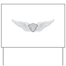 Aviation Yard Sign