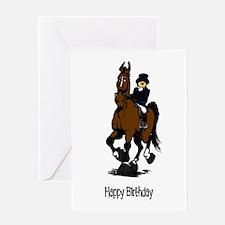Dressage Queen Birthday Card