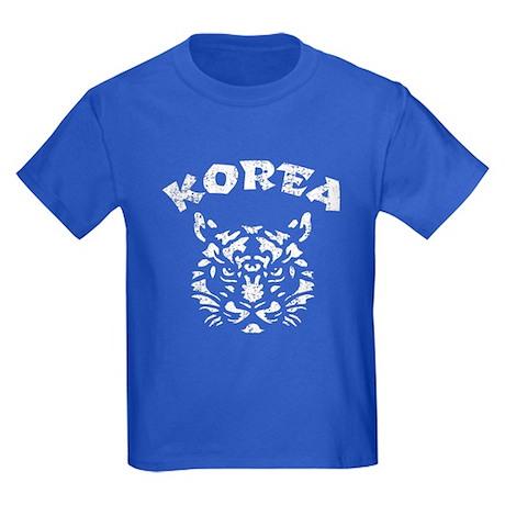 Korea Tiger Kids Dark T-Shirt
