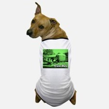 Trailer Park Green Vintage Dog T-Shirt