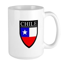 Chile Flag Patch Mug