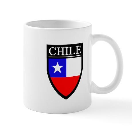 Chile Flag Patch Mug