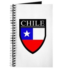 Chile Flag Patch Journal