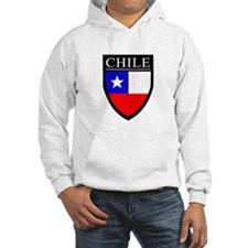 Chile Flag Patch Hoodie