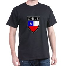 Chile Flag Patch T-Shirt